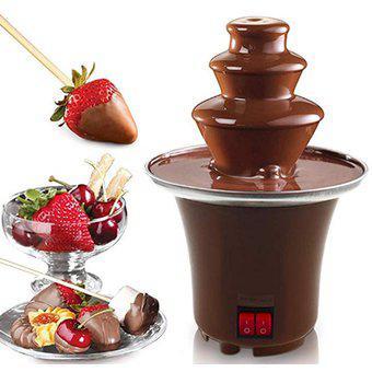 Mini fuente chocolate maquina fondue 3 niveles