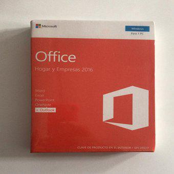 Office hogar y empresas 2016 (física)