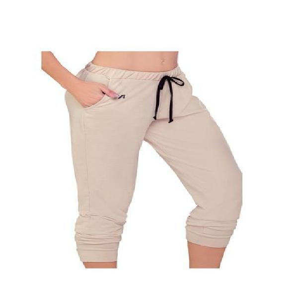 Pantalón sudadera para mujer caqui mp
