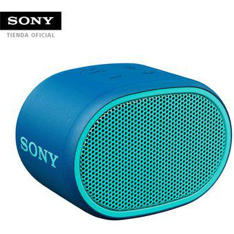 Parlante portátil sony srs-xb01 bluetooth extra bass - azul