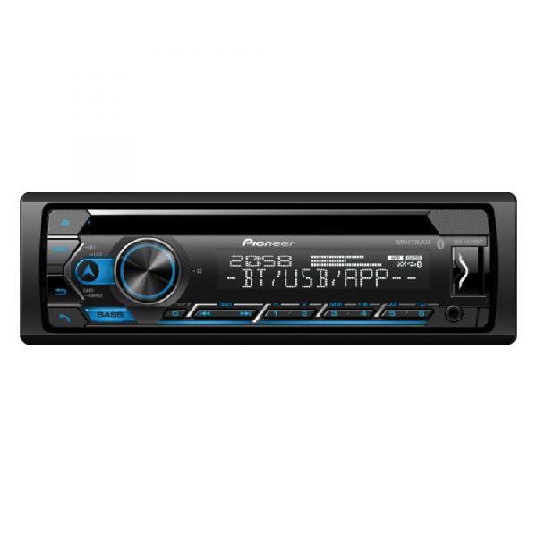 Radio car audio pioneer 1 din deh-s4250bt negro