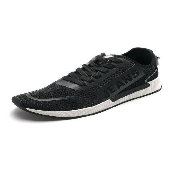 Tenis negro-blanco tommy hilfiger