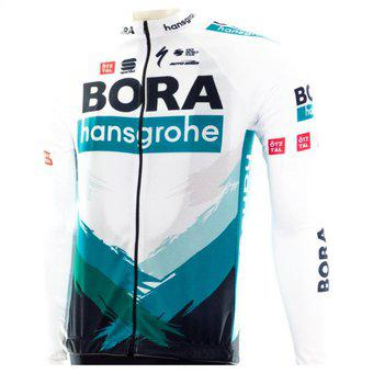 Uniforme de ciclismo hombre bora 2021 jersey manga larga