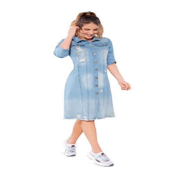 Vestido juvenil femenino azul claro atypical