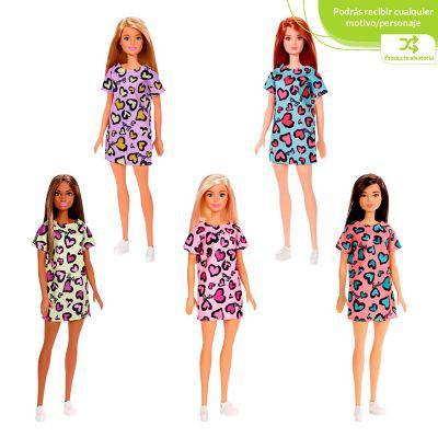 Barbie barbie básica surtida