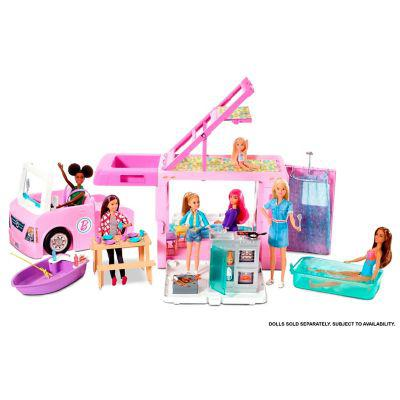 Barbie barbie cámper de barbie 3 en 1