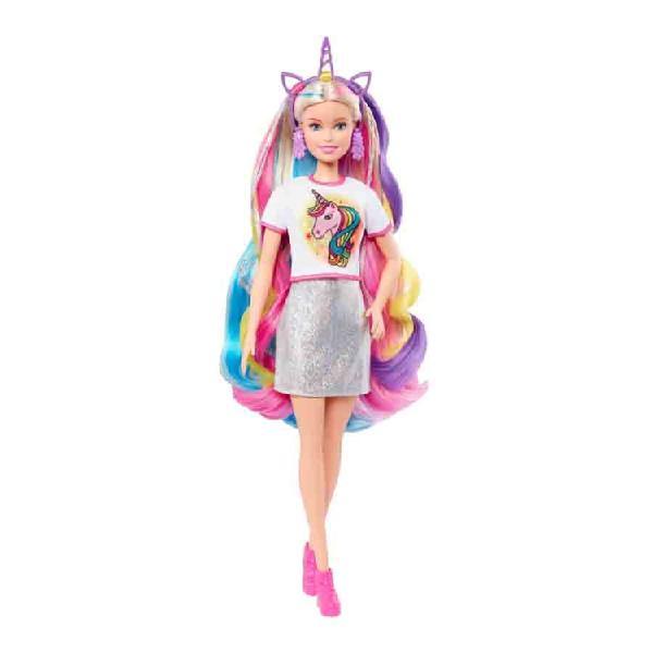 Barbie peinados de fantasía mattel