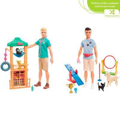 Barbie set de juego barbie ken profesiones