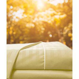 Juego sábanas sateen stripe beige - karytex