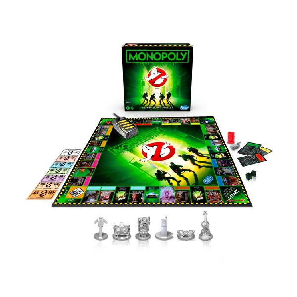 Juego de mesa monopoly ghostbusters hasbro
