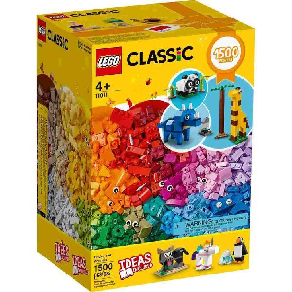 Lego classic ladrillos y animales
