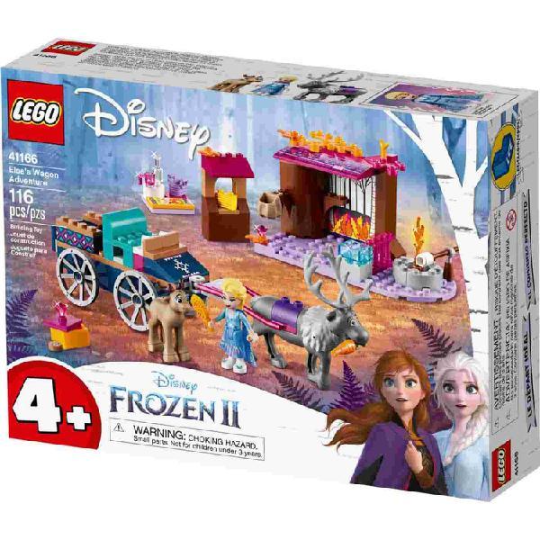 Lego disney frozen ii aventura en carreta de elsa