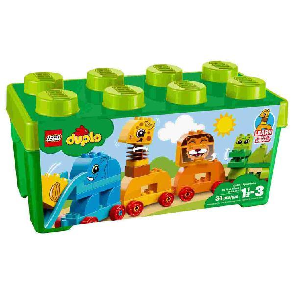 Lego duplo caja de ladrillos mis primeros animales