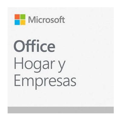 Microsoft licencia office hogar y empresas 2019 (t5d-03191)