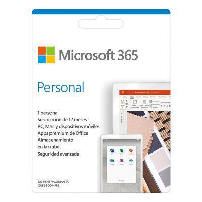 Microsoft microsoft 365 personal suscripción