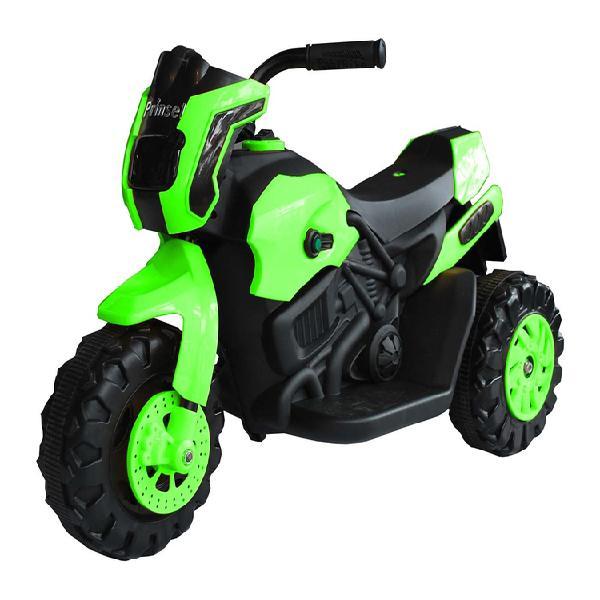 Montable eléctrico tipo moto verde prinsel