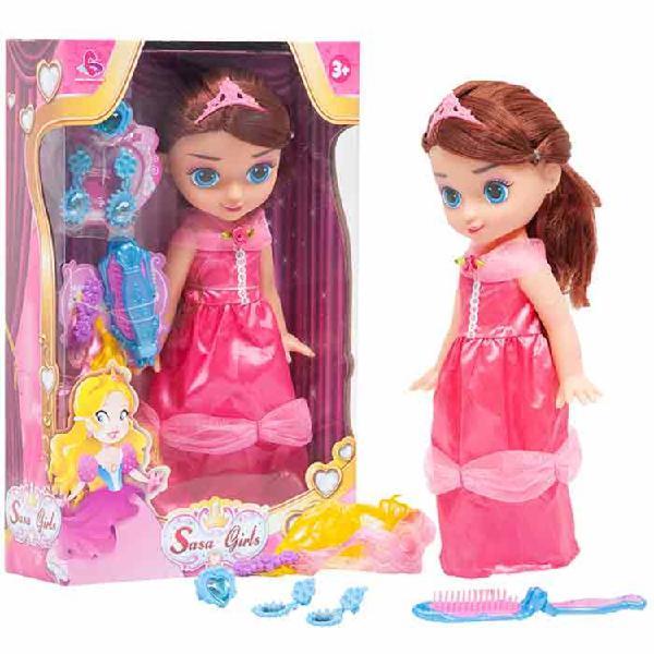 Muñeca princesa sasa girls