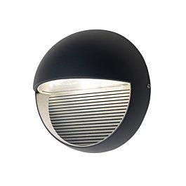 Aplique de pared circular color gris oscuro ref 1865 gr -