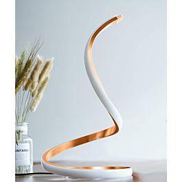 Lámpara de mesa led en espiral nuür - dks worldwide