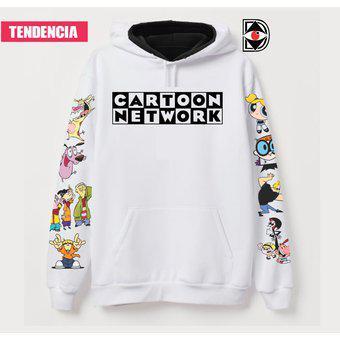Buzo saco buso hoodie con capucha y bolsillo cartoon network