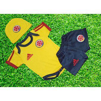 Bodie-mameluco-bebe-seleccion-colombia-amarillo-copa-america