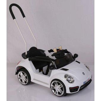 Carro eléctrico montable 2 en 1 niño control 1 a 4 años