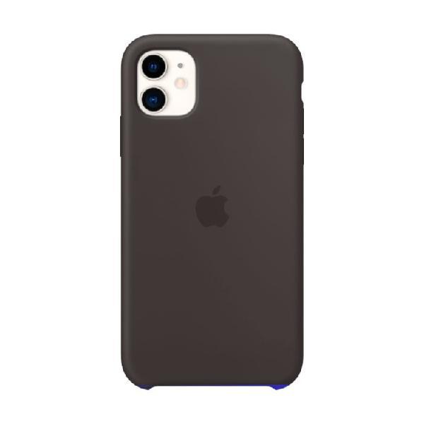 Case Silicone APPLE iPhone11 Negro