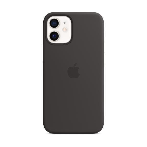 Case silicona apple iphone 12 mini negro
