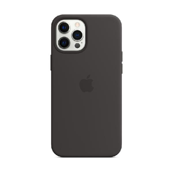 Case silicona apple iphone12 promax negro