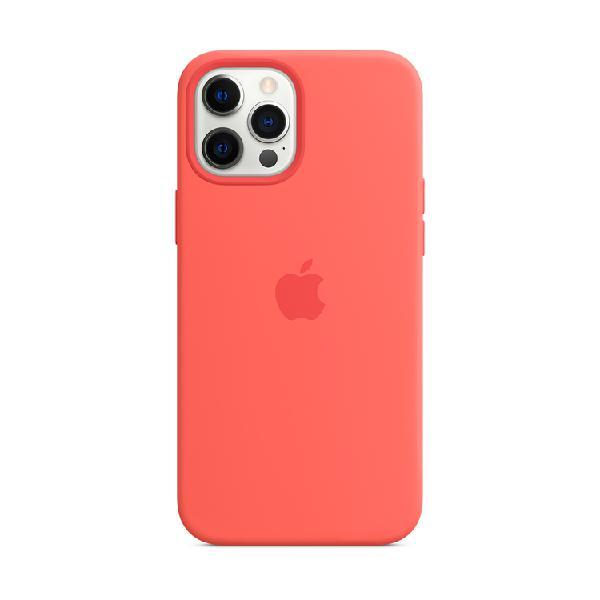 Case silicona APPLE iPhone12 ProMax Pomelo Rosa