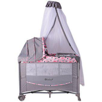 Corral mecedora colecho ebaby dacora 750p-rosa