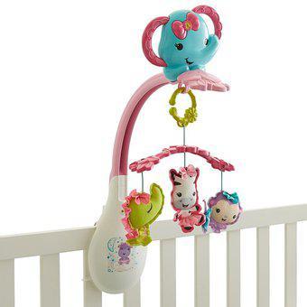 Movil elefanta para bebes 3 en 1fisher price colgantes -