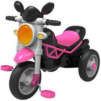 Triciclo moto trike prinsel rosado