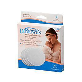 Protector de lactancia reusable - dr. browns