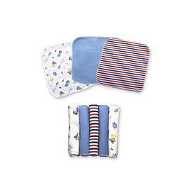 Set de pañuelitos multiusos para bebe azul - landi baby