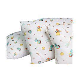 Set de tres cojines de lujo para bebes verde - landi baby