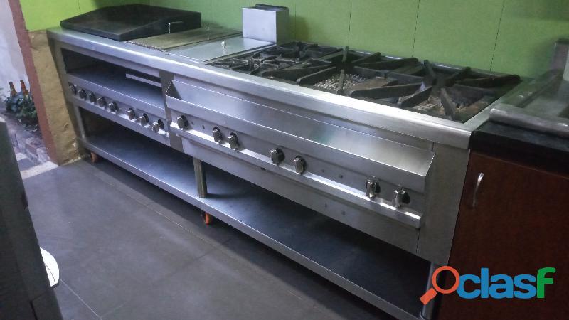 vendo estufa y horno industrial