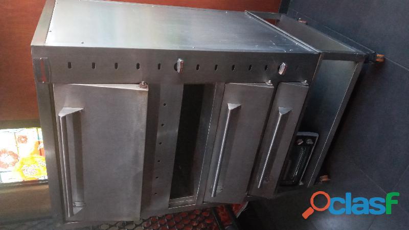 vendo estufa y horno industrial 1