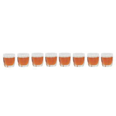 Cristar set 8 vasos amadeus rocks
