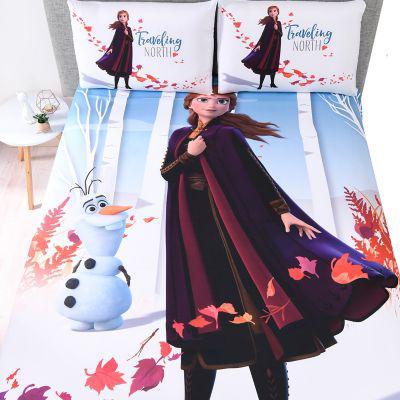 Frozen juego de sábanas poliéster ana estampada
