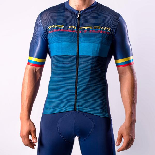 Camiseta de ciclismo high force colombia hombre