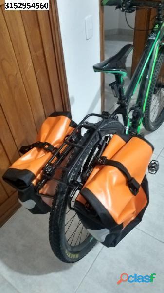 Bicicleta mtb scott scale 760 talla s verde neon con negro