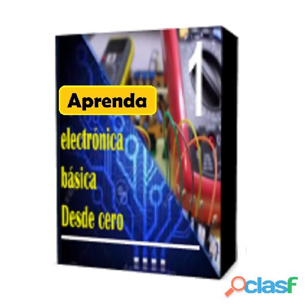 Curso Basico de Electronica Desde Cero en PDF 10mil$ cop