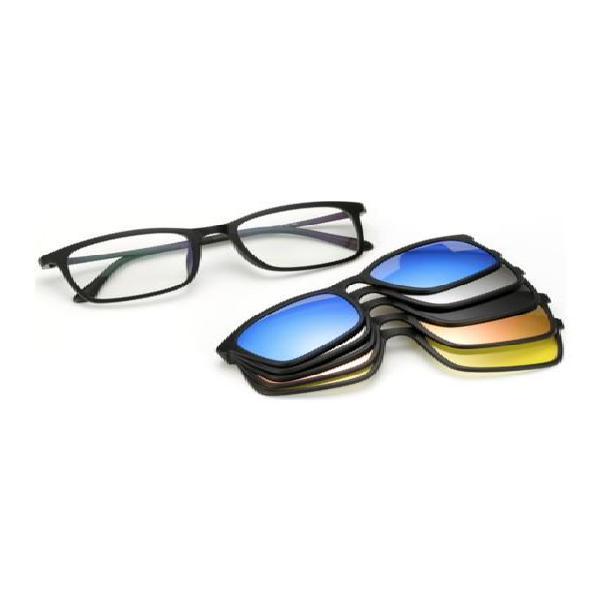 Gafas sol polarizadas 5 lentes intercambiables tr90 8803