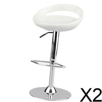 Taburete de bar con silla giratoria redonda de escala 2x1 /