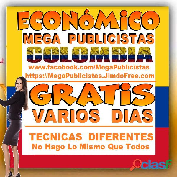 ⭐ GRATIS, Mega Publicistas SINCEJEJO, Super Publicista, Ultra Agencia Publicidad, Marketing, Mercade 2