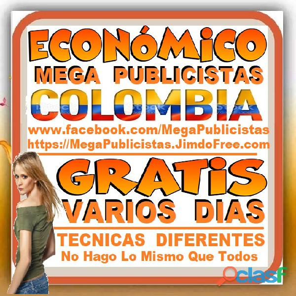 ⭐ GRATIS, Mega Publicistas SINCEJEJO, Super Publicista, Ultra Agencia Publicidad, Marketing, Mercade 1