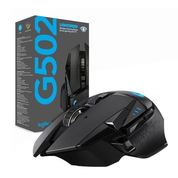 Mouse Gamer Logitech G502 Hero Rgb Wireless - Clones y
