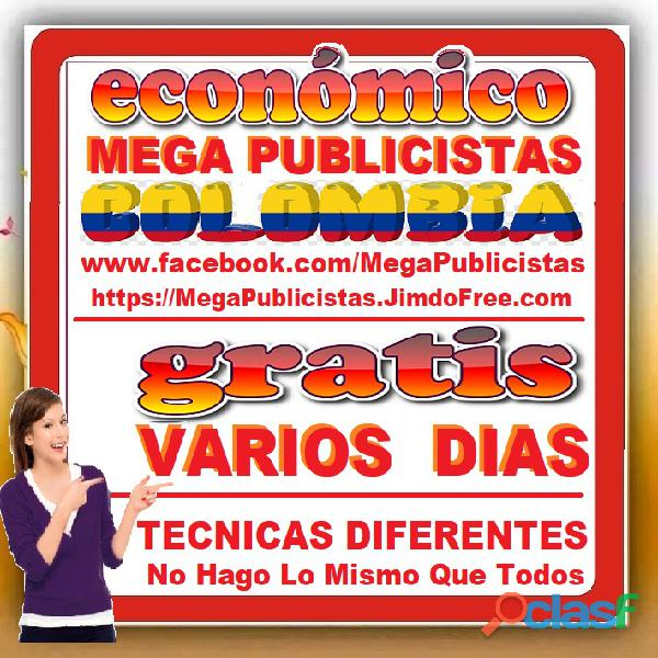 ⭐ GRATIS, Mega Publicistas ARMENIA, Super Publicista, Ultra Agencia Publicidad, Marketing, Mercadeo, 4