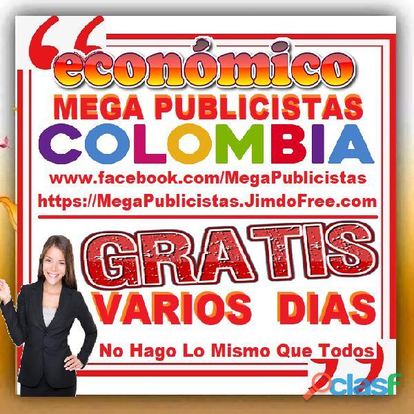 ⭐ GRATIS, Mega Publicistas ARMENIA, Super Publicista, Ultra Agencia Publicidad, Marketing, Mercadeo, 3